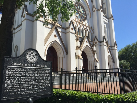 Cathedral of St. John the Baptist Historical Site Marker