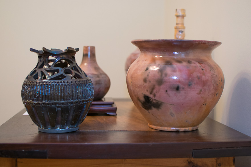 Eric Clark's pottery.