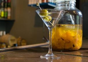Revival's classic martini.